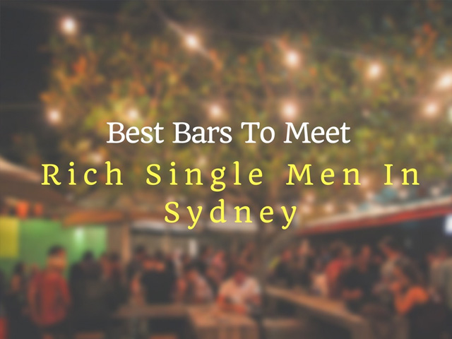 Where to meet guys in sydney